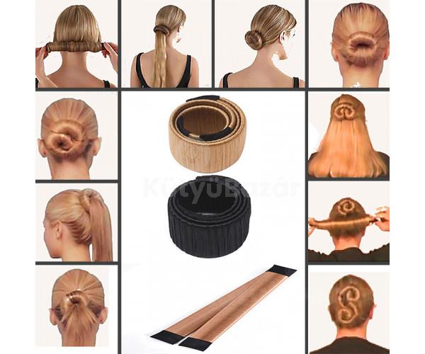 Konty készítő hajpánt, hajcsat