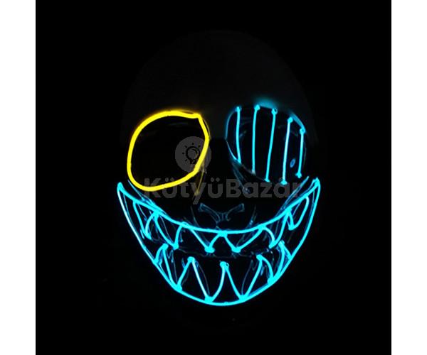Neon party maszk
