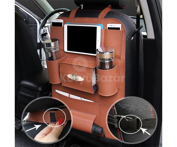 Ülésvédő autós tároló