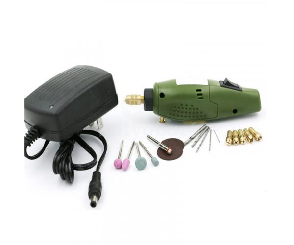 Multifunkciós mini szerszámgép - fúrás, faragás, csiszolás, vágás, polírozás
