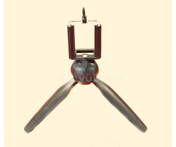 Akciókamera/telefontartó tripod
