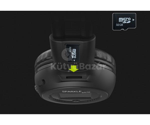 Zealot B570 Bluetooth fejhallgató rádióval TF kártyafoglalattal