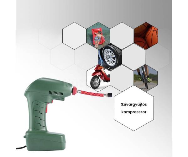 Kompresszor, szivargyújtós kompresszor