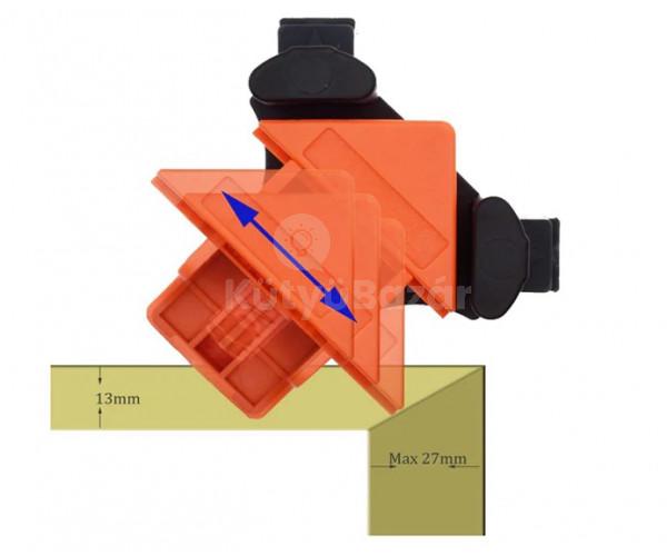 4 db sarokrögzítő 5-22 mm