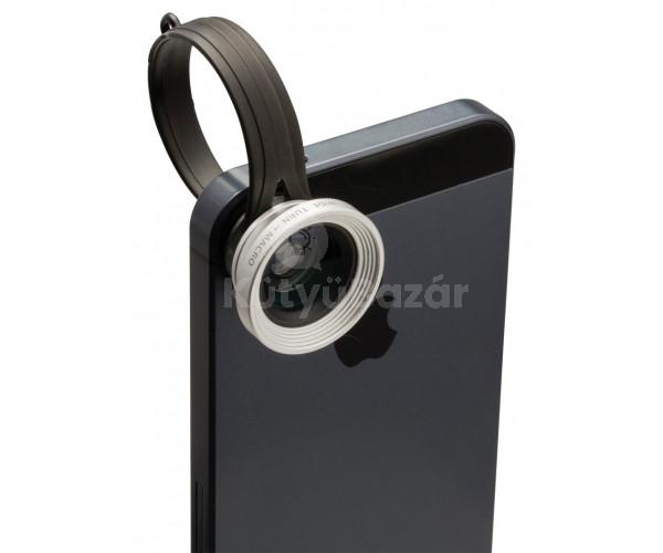 2 az 1-ben objektív mobiltelefonhoz