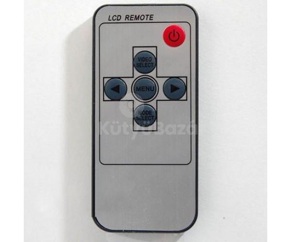 "7"" TFT LCD tolatókamera Monitor"