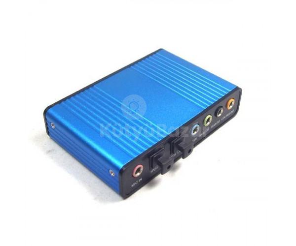 USB 5.1 hangkártya külső hangkártya 5.1 spdif  fead260eb2
