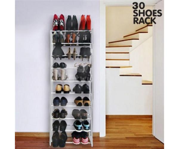 30 férőhelyes cipőtároló állvány