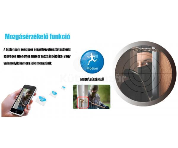 ProHome - mozgásérzékelős kamera rendszer