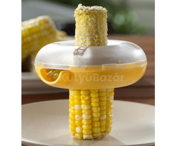 Főtt kukorica morzsoló