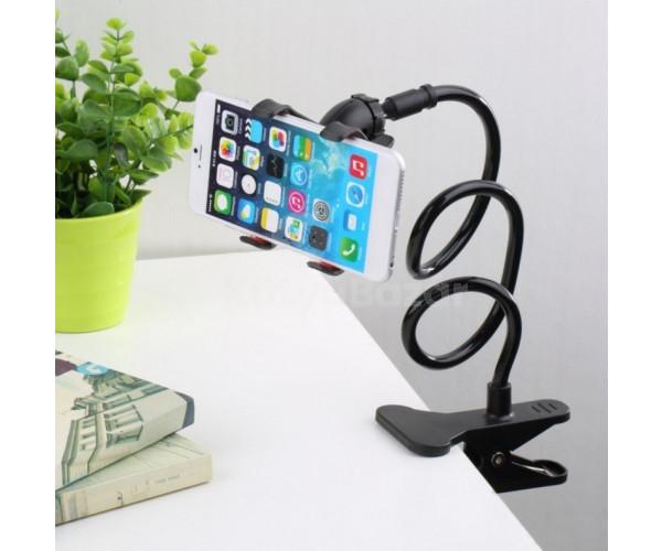 Csíptethető flexibilis univerzális telefontartó mobil tartó