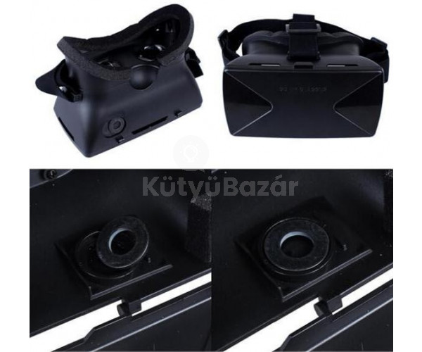 3D VR virtuális valóság szemüveg cardboard - Virtuális valóság a telefonunkkal - Utolsó darabok!