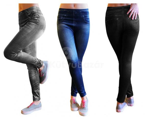3 db Slim Fit Jeans nadrág 1 ÁRÁÉRT!