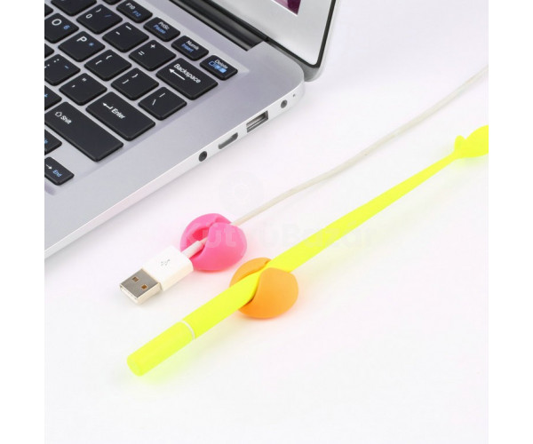 USB kábel leesés gátló 6db