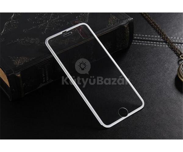 3D kijelző védő fólia erősített oldaléllel iPhone 6/6S/6Plus/6SPlus telefonokhoz