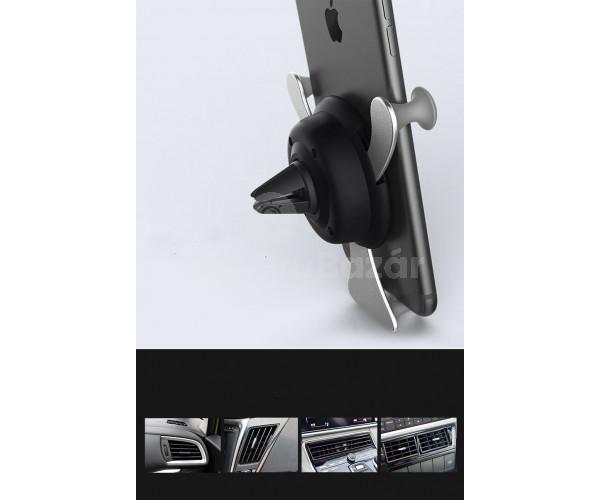Mókás mágneses autós mobiltartó