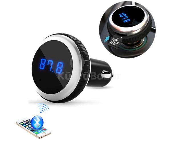 Prémium Autós FM transmitter, MP3 lejátszó távirányítóval