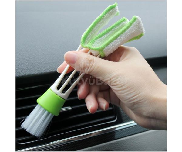 Újdonság! Autós tisztító kefe a nehezen elérhető helyek tisztítására