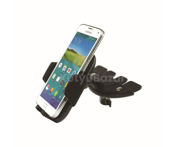 Univerzális CD nyílásba helyezhető mobil tartó