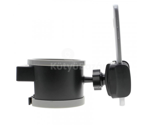 Univerzális szellőzőrácsra helyezhető pohár és mobil tartó