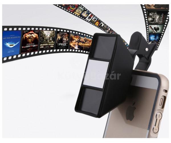 Univerzális 3D kép / videó készítő lencse okostelefonhoz