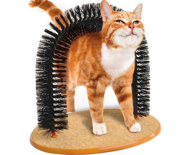 Varázslatos ívelt macska kefe