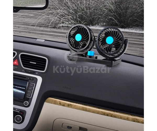 360° Forgatható Autó Ventilátor
