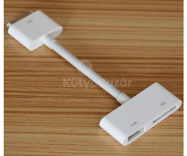 AV/HDMI 1080p adapter iPhone 4/4S, iPad 2/3 és iPod(4g) touch-oz