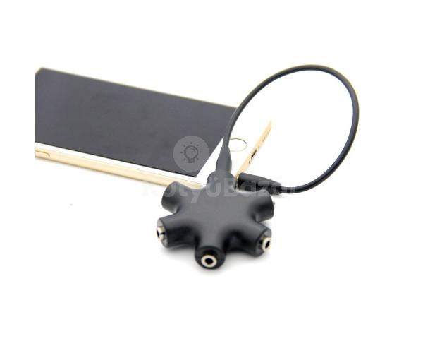 Jack elosztó adapter, 5 részes
