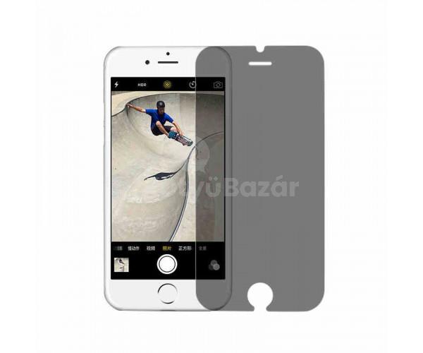 Betekintés elleni védelemmel ellátott iPhone kijelzővédő fólia