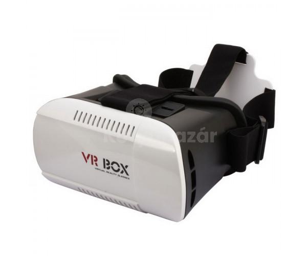VR BOX 3D Virtuális valóság szemüveg távirányítóval