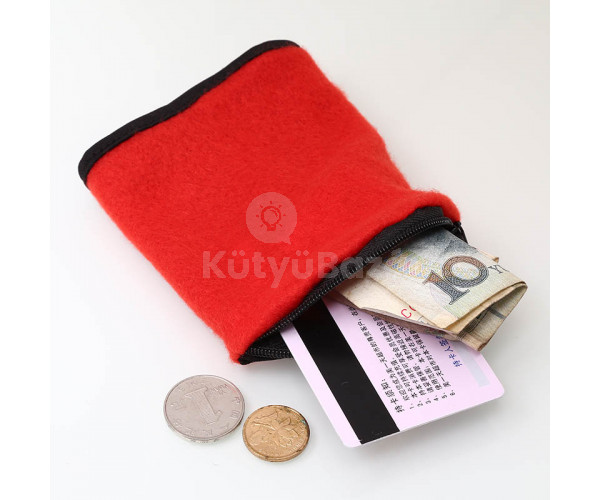 Cipzáras csuklóra helyezhető sportpénztárca