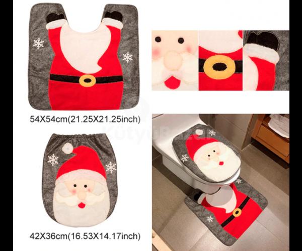 Karácsonyi wc üléshuzat