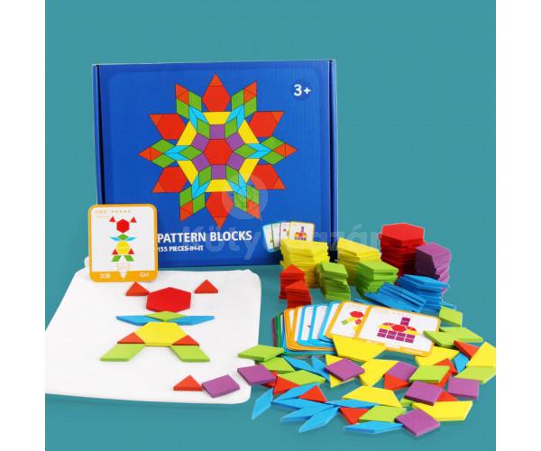 Kreatív kirakós játék (155 darabos)