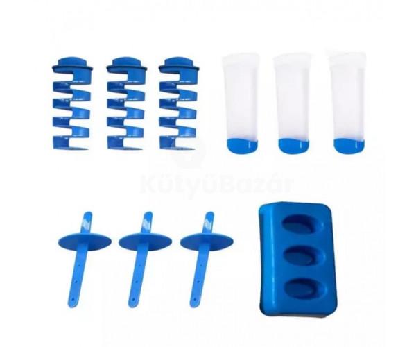 Jégkockakészítő, jégkrém forma, 2 az 1-ben jégkrémkészítő