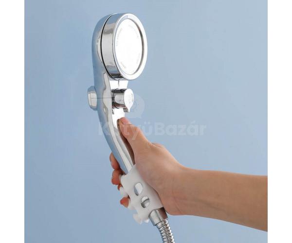 Tapadókorongos zuhanyfej tartó