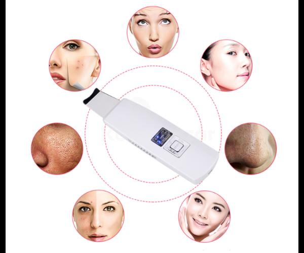 Ultrahangos mély bőrtisztító készülék