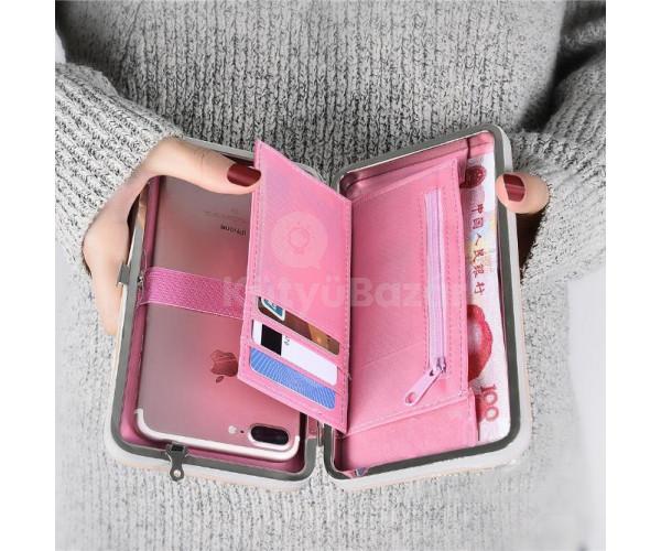 Női pénztárca, borítéktáska