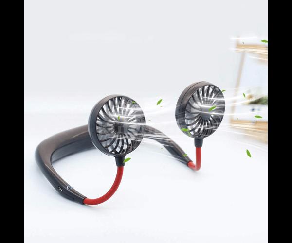 Mini ventilátor, hordozható ventilátor, nyakba akasztható ventilátor