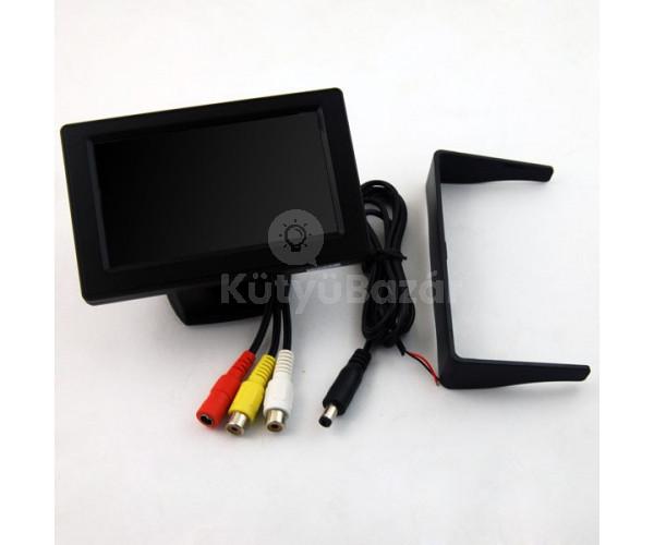 "4.3"" Tolatókamera monitor"