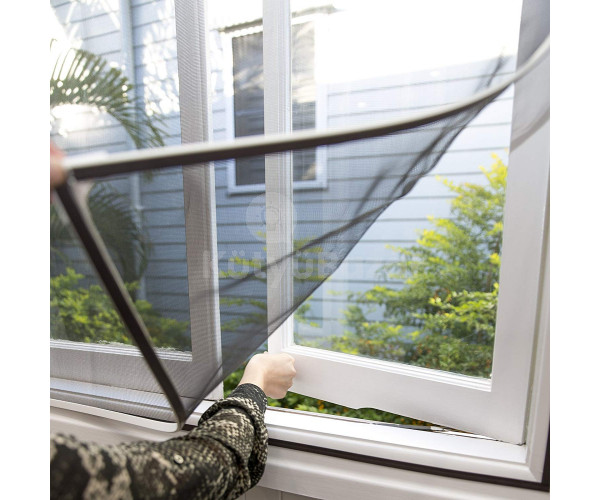 Szúnyogháló ablakra, öntapadós szúnyogháló (150 x 200 cm)