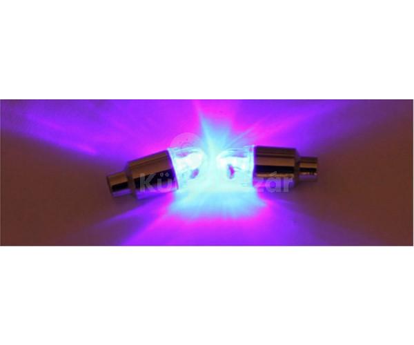 Szelepsapka, világító szelepsapka, ledes szelepsapka 4 db