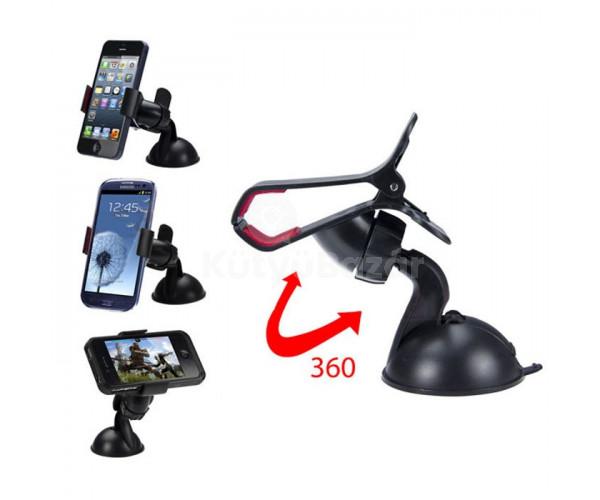 Univerzális autós és asztali mobiltartó