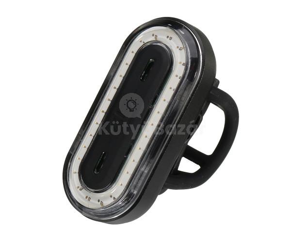 USB-vel tölthető biciklilámpa