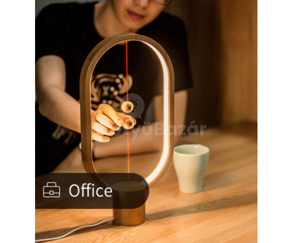 Elegáns minimalista gravitációs lámpa