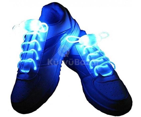 Világító cipőfűző, LED cipőfűző 1 pár