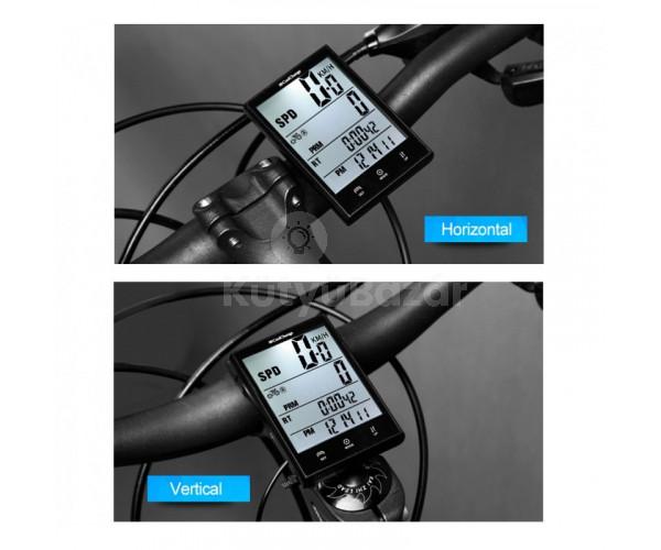Kerékpárra szerelhető vezeték nélküli kilométeróra