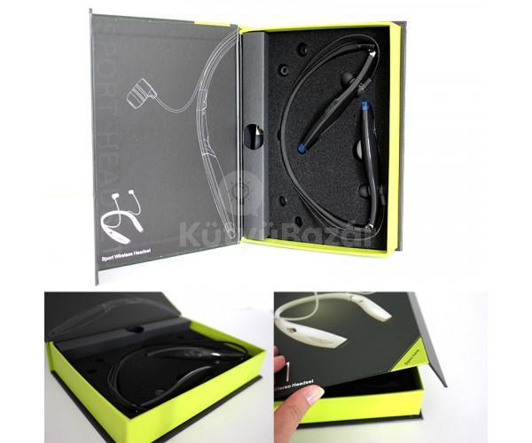 Zealot Vezeték nélküli prémium nyakba akasztható LED-es fejhallgató/headset