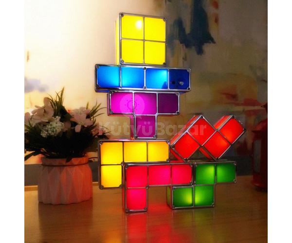 Tetris lámpa plusz adapter