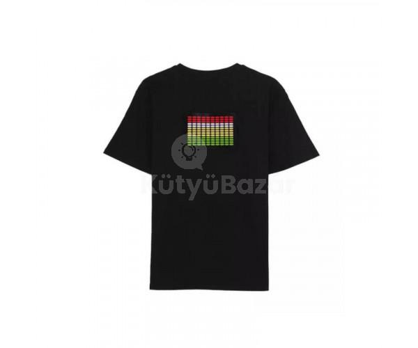 Zenére világító Disco póló